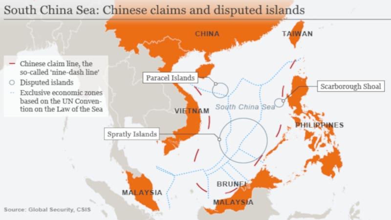Νότια Κινεζική Θάλασσα: Οι ΗΠΑ στέλνουν αεροπλανοφόρα ενώ διεξάγονται κινέζικες στρατιωτικές ασκήσεις