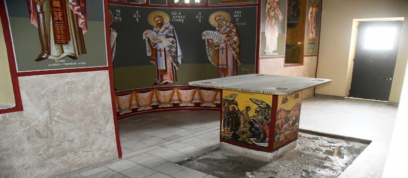 Οι κομμουνιστές επισκευάζουν και εκκλησίες στην Πάτρα