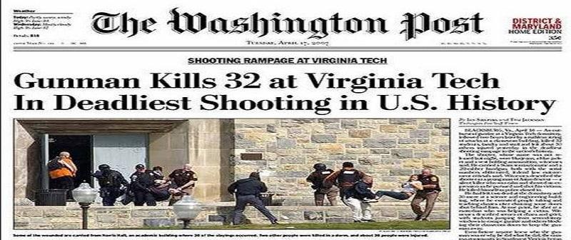 Η 12άδα των πιο αιματηρών ένοπλων επιθέσεων στις ΗΠΑ