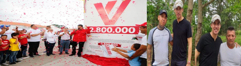 Ο ένας δίνει σπίτια δωρεάν κι ο άλλος φωτογραφίζεται με εμπόρους κοκαΐνης