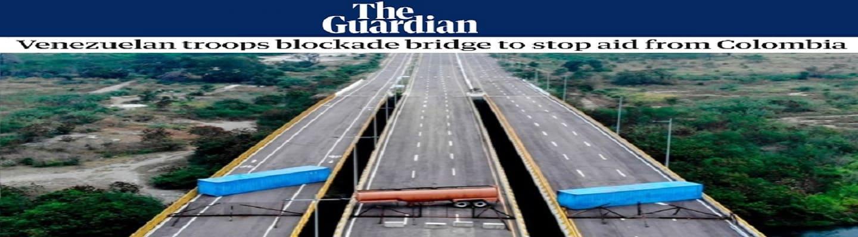 Τα «Fake News»της Δύσης κιηκλειστή γέφυρα της Βενεζουέλας