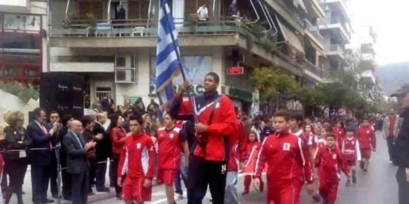 Αντετοκούμπο παρέλαση
