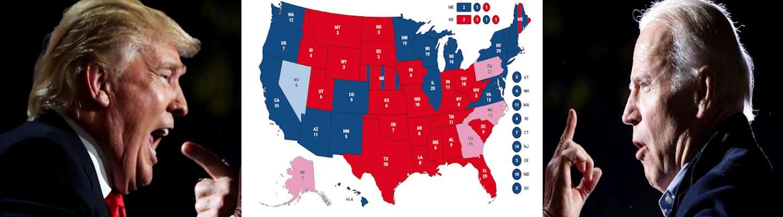Τι χρειάζονται οι Μπάιντεν και Τραμπ για να νικήσουν;