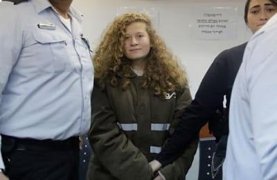 Φυλάκιση 8 μηνών στη 17χρονη Παλαιστίνια Άχεντ Ταμίμι