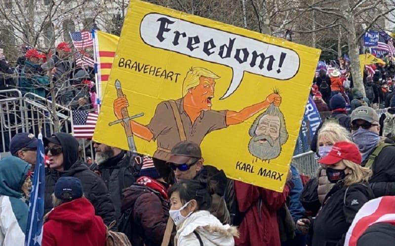 Best of τραμπικών διαδηλωτών στο Καπιτώλιο