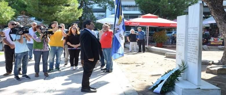 Επίθεση σε Πελετίδη για τον εορτασμό της απελευθέρωσης