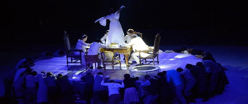 Η θεατρική παράσταση «Ο πάγος έσπασε