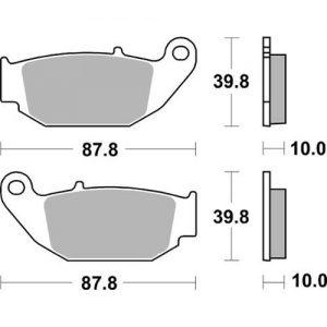 Bremseklosser SBS 915