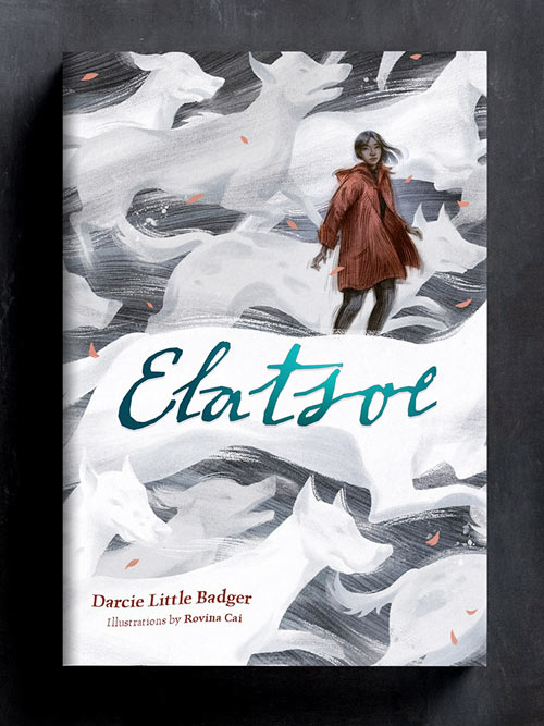 Elatsoe: Cover and Chapter Spots