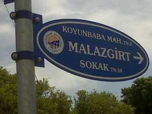 New Road Signs in the Gümüşlük area