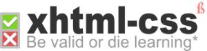 CSS, HTML, XHTML, Whatthe-ML?