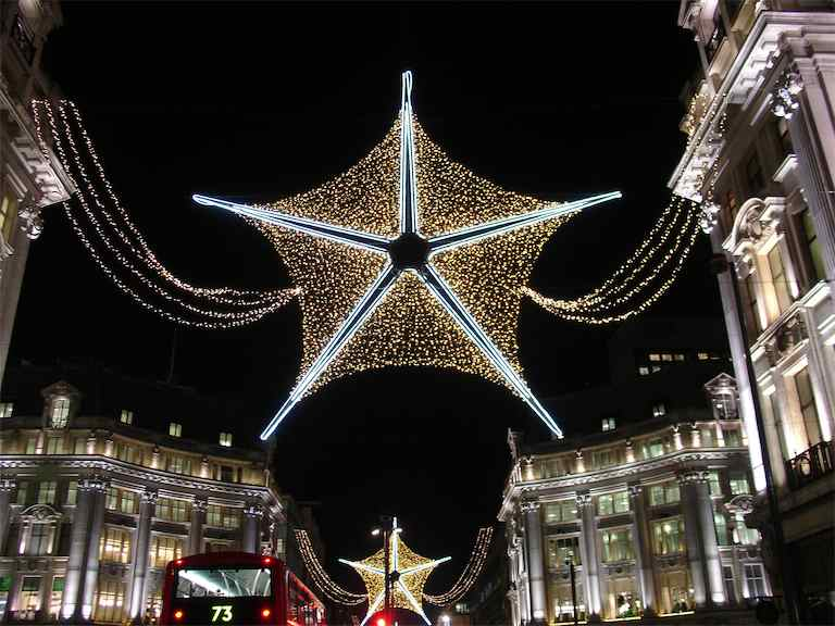 2011 Oxford Street Christmas Lights London UK