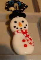 Harmony California Glass Snowman