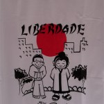 Sao Paulo Brazil market goods in Liberdade