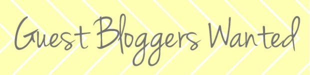 Guest Bloggers Wanted Logo