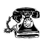 Telephone logo for House Sitting