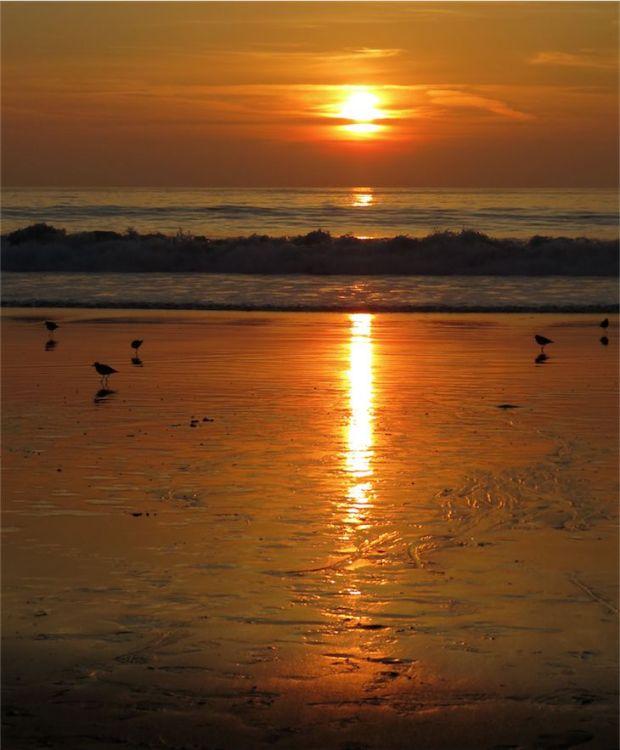 Hermosa Beach California Sunset