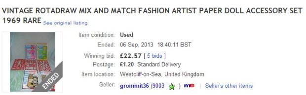 Rotadraw Mix and Match Fashion Design Kit