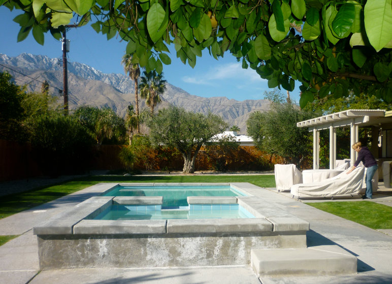 Pool at our house sit in Palm Springs