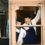 Laurel and Hardy Carpenters