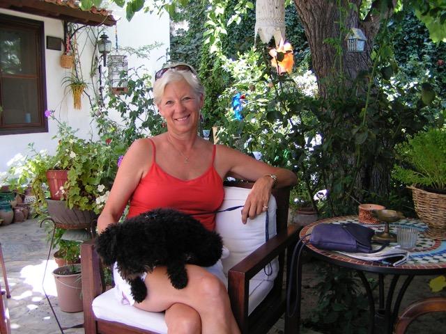 Ann Mershon Ann Marie at Nilya Turkey