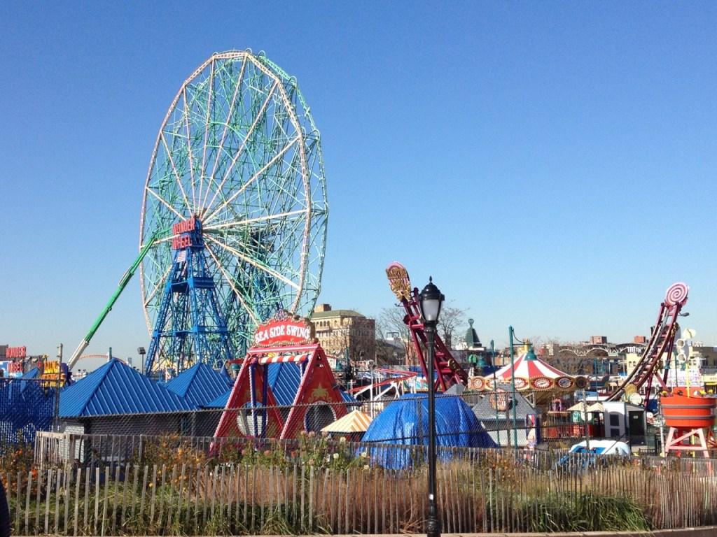 Ferris Wheel at Coney Island Brooklyn NYC