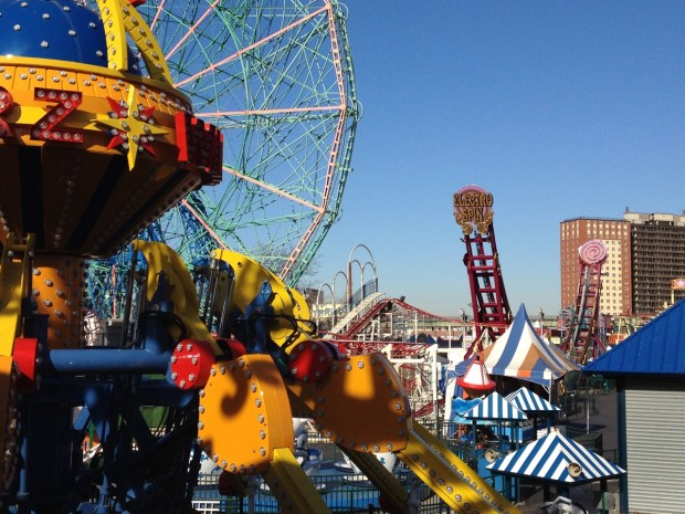 Funfair Coney Island Brooklyn NYC