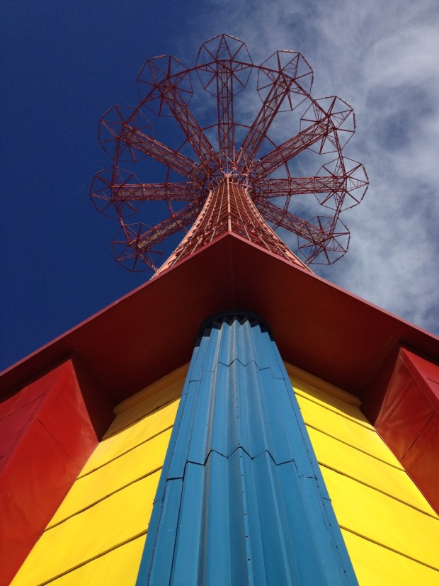 Parachute Jump Coney Island Brooklyn NYC