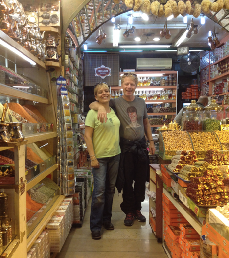 Shopping at the Turkish Delight Shop Istanbul Spice market