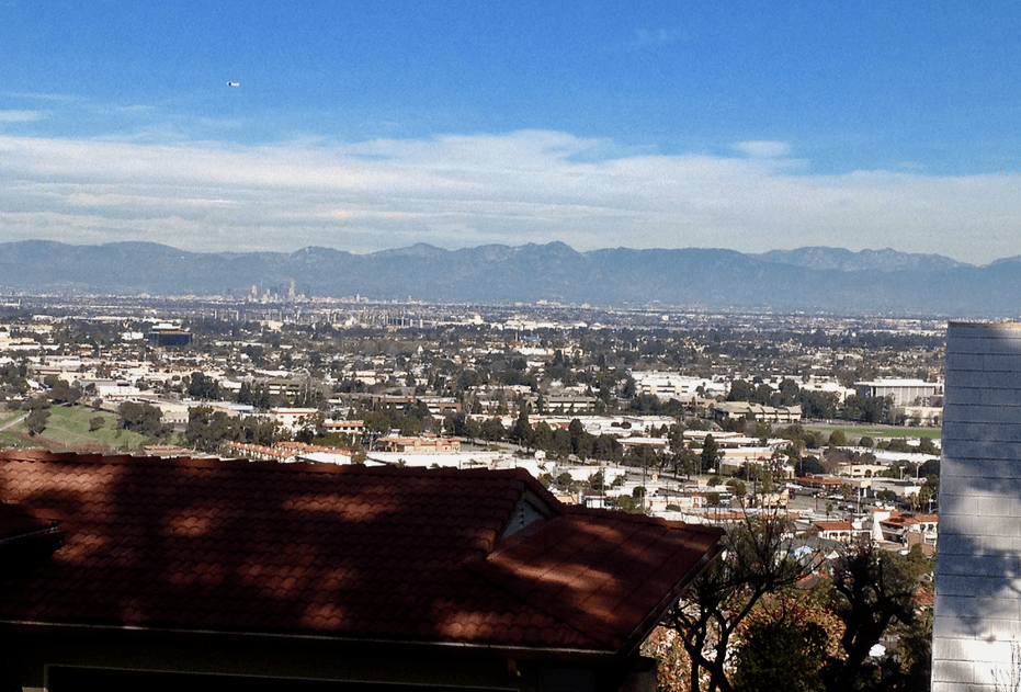 View of Downtown Los Angeles from Palos Verdes