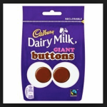 Dairy Milk Chocolate Buttons