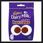 Dairy Milk Chocolate Buttons