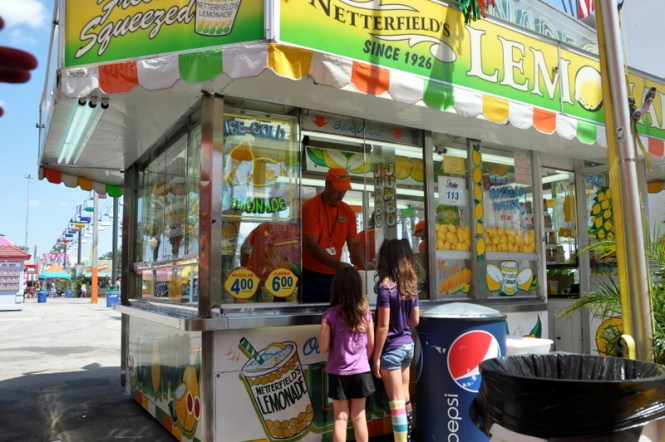 Netterfields lemonade at the Fair