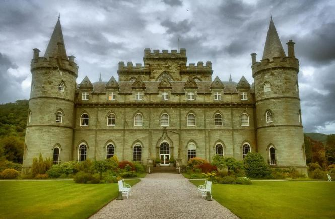 Inverary Castle - Top 5 Scottish Castles for Kids