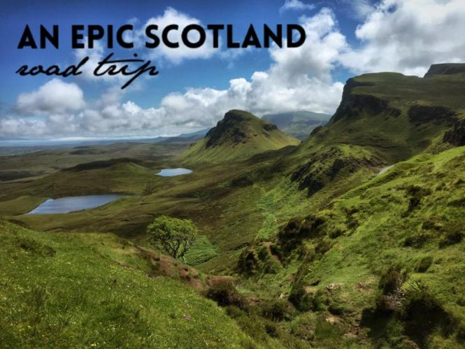 Epic Scotland Road Trip
