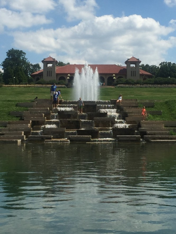 Forest Park in St. Louis