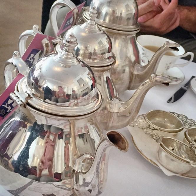 The beautiful tea set