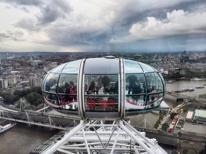 The London Eye views