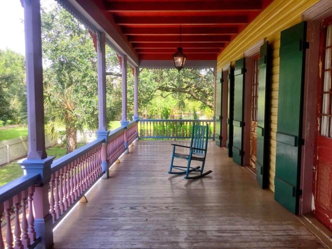 Laura Plantation porch