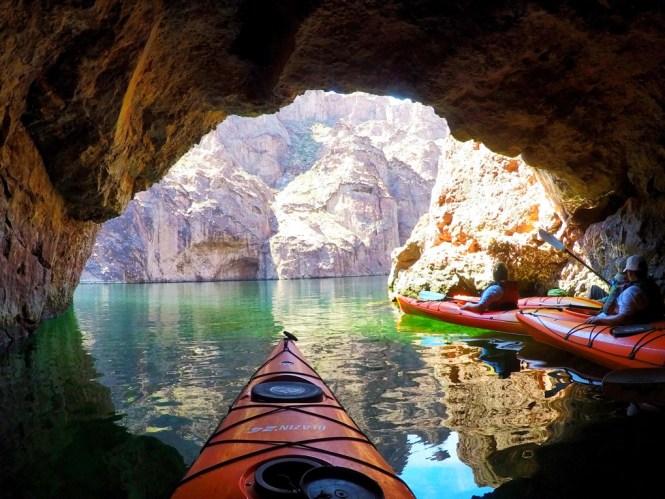Emerald Cave I the Black Canyon