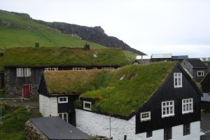 The Faroe Island houses