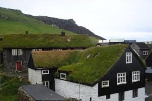 The Faroe Island houses