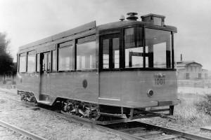 Aanhangrijtuig 1001, 1e serie 1001-1020, 1e aflevering, 1929, terrein Allan, verhoogde buffers