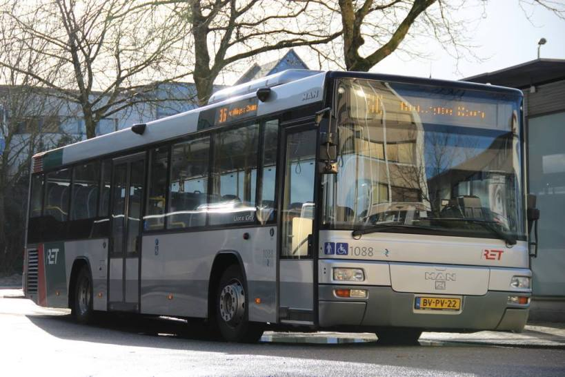 Bus 1088, MAN Lion's City, Station Alexander, lijn 36,