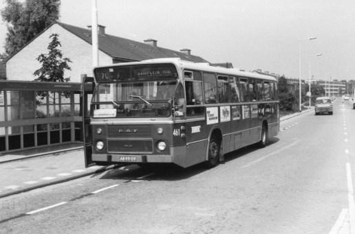 Bus 461, DAF-CSA-1, lijn 70, Grote Kreek, 1976
