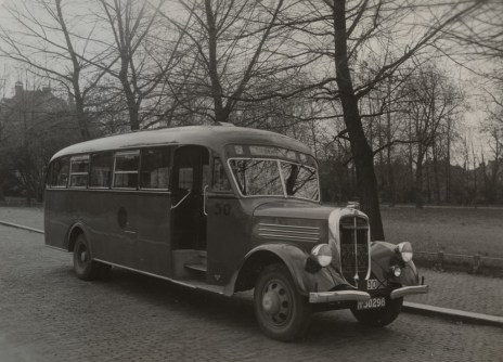 Bus 50, eigendom van de stichting Veteranen autobussen.