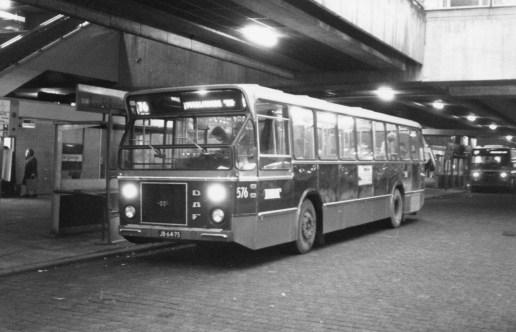 Bus 576, DAF-CSA-1, lijn 76, Zuidplein, 1974
