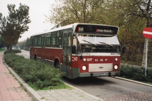 Bus 612, lijn 56, DAF-Hainje, NS station Vlaardingen-West