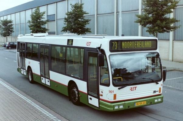 bus 901, Daf-Den Oudsten Alliance, Sluisjesdijk, 2001