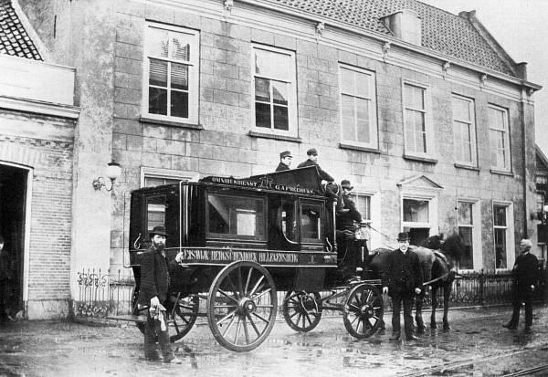 Bergse Dorpsstraat 1890